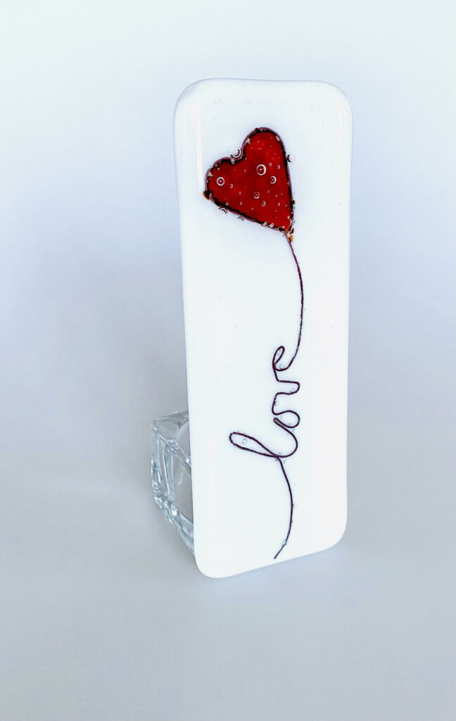 Love balloon tealight holder